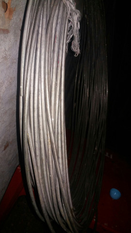 Tubo de ferro galvonizado um rolo - Foto 2