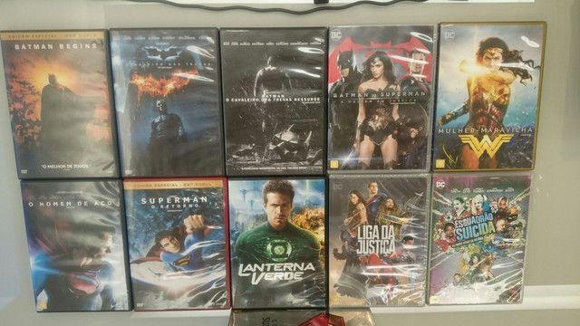Coleção Dvd Marvel Dc - Foto 4
