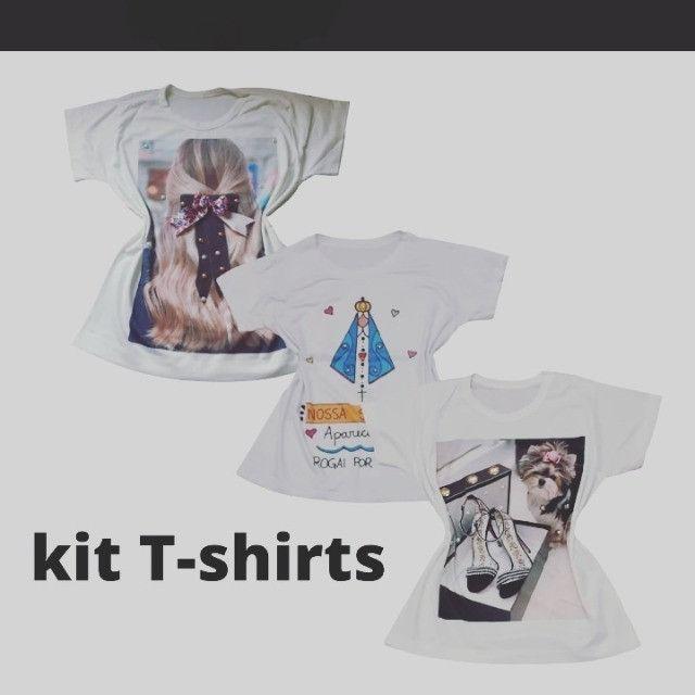 Kit 3 T-shirts - Foto 4