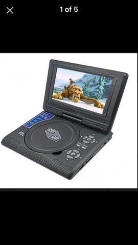 Dvd portátil  com várias  funções  - Foto 3