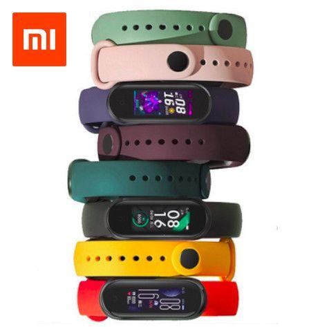 Pulseira De Silicone Para Smartband Xiaomi Mi Band 5 Qualidade Original