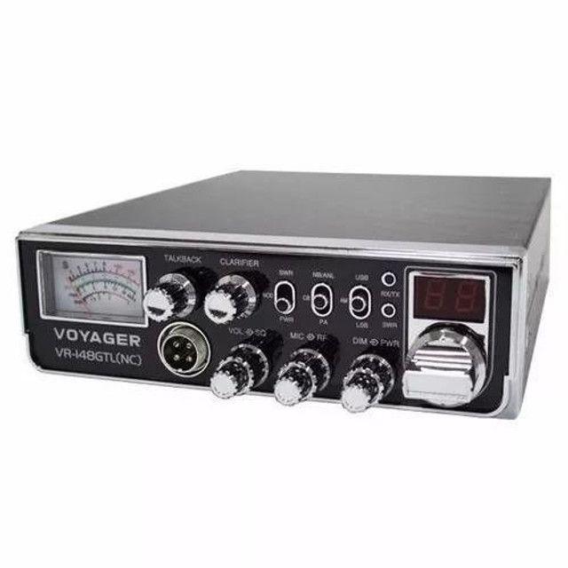 Rádio Px Voyager Vr-148gtl (nc) Até 40 Canais Pronta Entrega - Foto 2