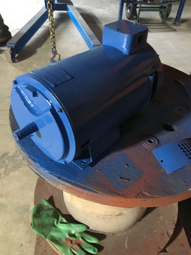 Motor elétrico corrente contínua 1,5 cv