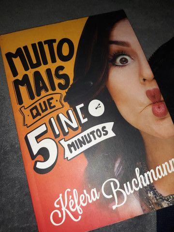 """2 livros por 20- """"Muito mais que 5 minutos"""" e """"Eu fico Loko 2"""" - Foto 2"""