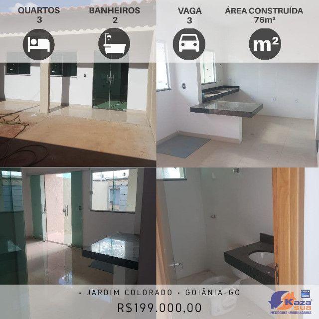 Casa 3 quartos sendo 1 suíte, R$199.000,00 Jardim Colorado, Goiânia - GO