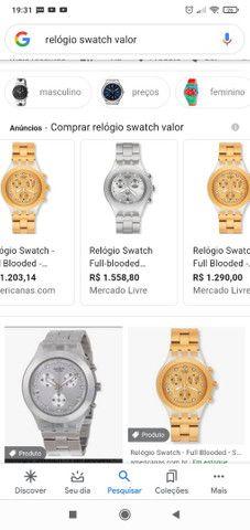 Vendo Relógio Swatch original  - Foto 5