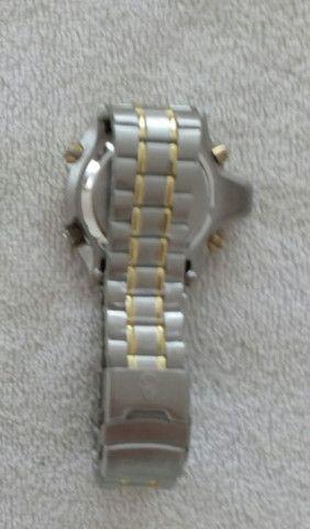 Relógio modelo Aqualand marca Atlantis com pulseira de aço inoxidável - Foto 4