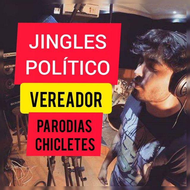 MÚSICA/JINGLE CAMPANHA POLÍTICA - R$ 170,00 VEREADOR