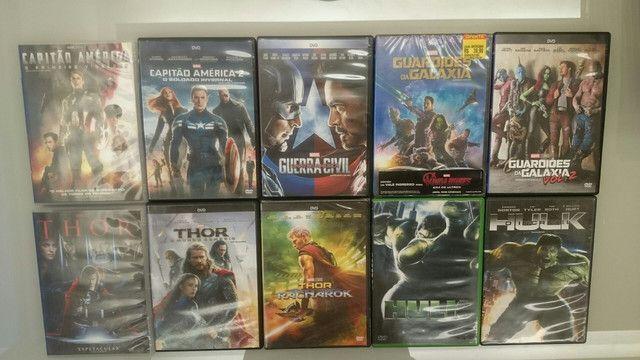 Coleção Dvd Marvel Dc - Foto 5