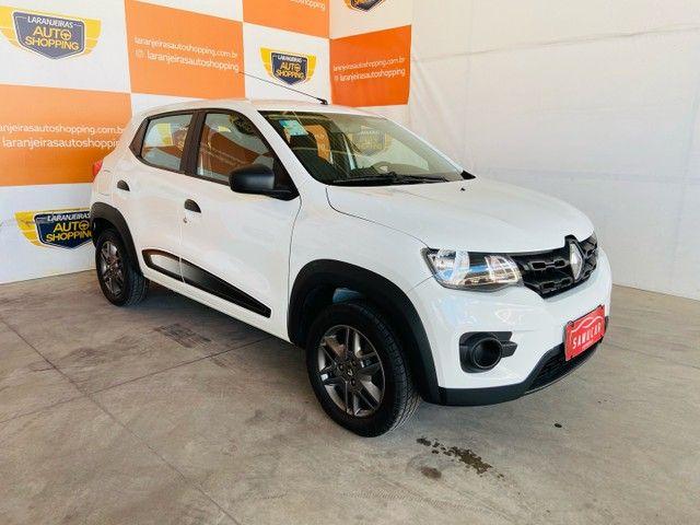 Renault kwid 1.0 2018 - aceito moto na troca - Foto 2