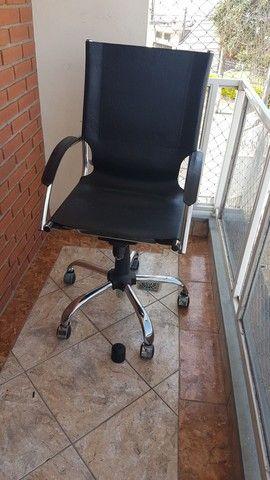 Cadeira couro presidente