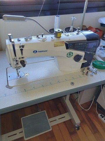 Maquina de Costura Reta Industrial Eletrônica SANSEI Q4