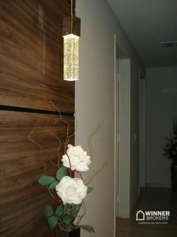 Lindo apartamento mobiliado à venda no novo centro de Cianorte! - Foto 13
