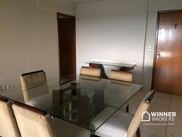 Ótimo apartamento mobiliado à venda no centro de Cianorte! - Foto 11