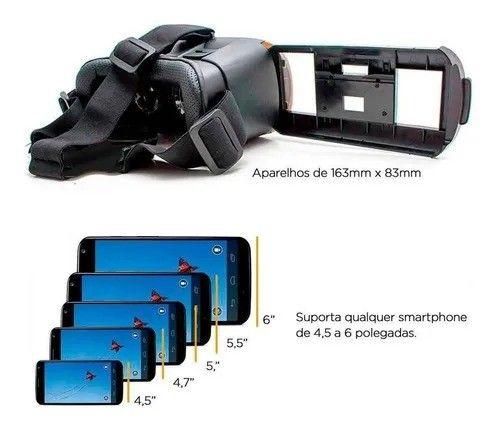 Óculos 3D Realidade Virtual Vr Box + Controle Bluetooth - Foto 4