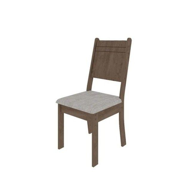 Mesa de Jantar New Charm 4 Cadeiras -- Entrega e montagem Na Hora - Foto 2