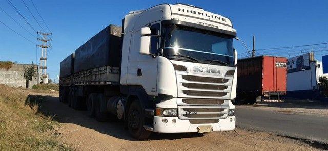 Scania R480 6X4, 2013+ Rodotrem Randon 3x3 - Foto 4