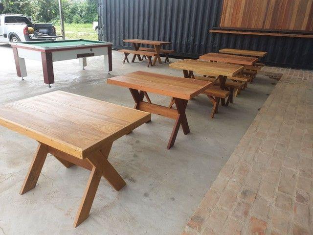 Mesa de madeira demolição  - Foto 5