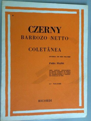 Czerny técnica para piano, 6 volumes - Foto 5