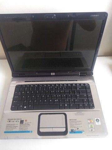 notebook hp dv 6000  não da video - Foto 2