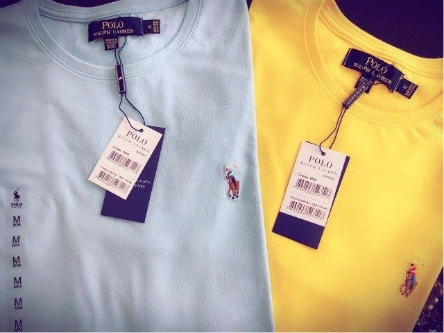 camisetas ralph lauren atacado minimo 10 pcs basicas  - Foto 6