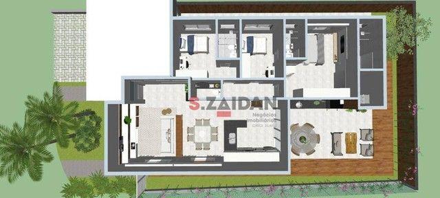 Casa com 3 dormitórios à venda, 180 m² por R$ 1.055.000,00 - Residencial Villa D?Aquila -  - Foto 13