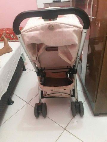 Carrinho de bebê alumínio - Foto 2