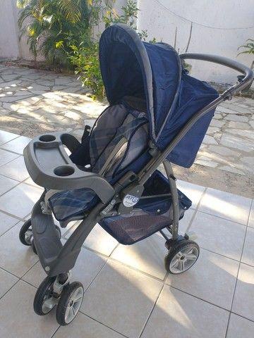 Carrinho de bebê + bebê conforto Burigotto - Foto 5