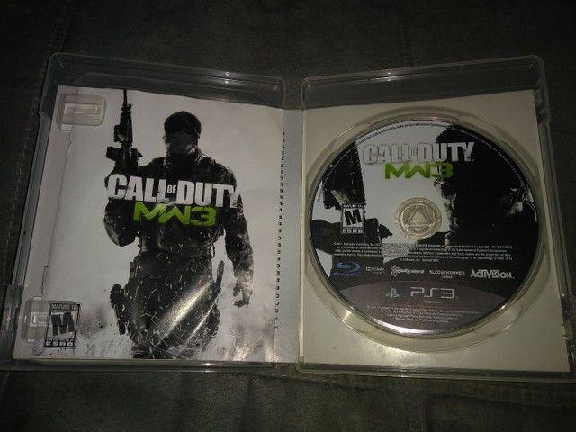 Jogo de Ps3 Call of Duty MW3