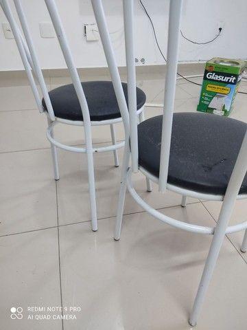 2 cadeiras tubolar  - Foto 4