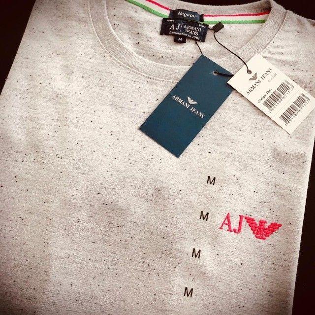 camisetas armani basicas atacado  - Foto 5