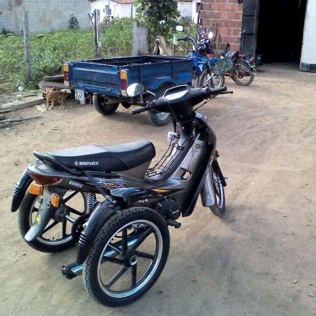 Kit triciclo para moto