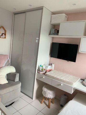 Apartamento no Geisel, 02 quartos - Móveis Projetados - Foto 11