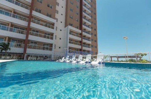 Apartamento com 2 dormitórios à venda, 57 m² por R$ 371.910,17 - Jóquei Clube - Fortaleza/ - Foto 2