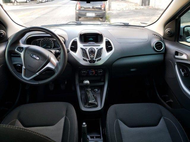 Ford Ka 2015 1.5 SEL Unica dona Top de linha  - Foto 14