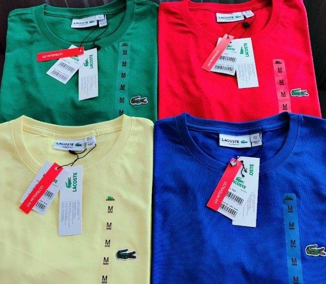 camisetas basicas atacado masculinas peruanas  - Foto 3