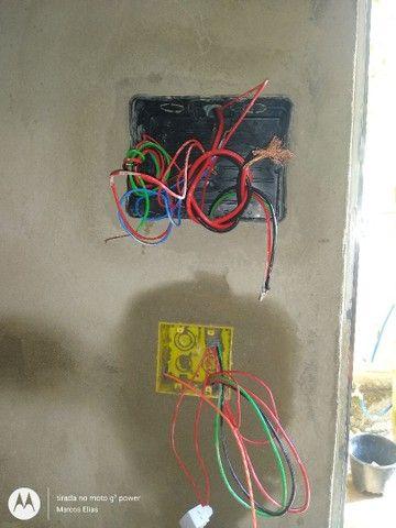 Eletricista- Portão eletrônico- alarmes- câmeras- concertina