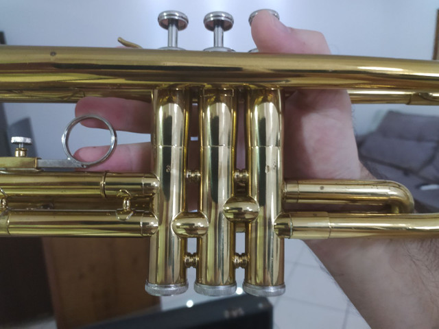 Trompete weril semi novo top - Foto 2