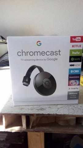 Chromecast TV streaming device by Google
