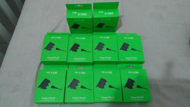 Carregador e bateria para controle Xbox one