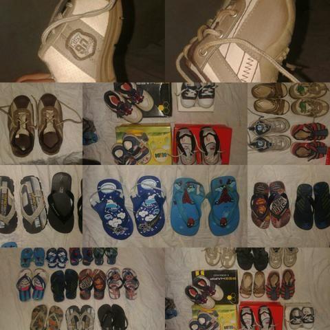Sapatos e sandálias 26,27,28