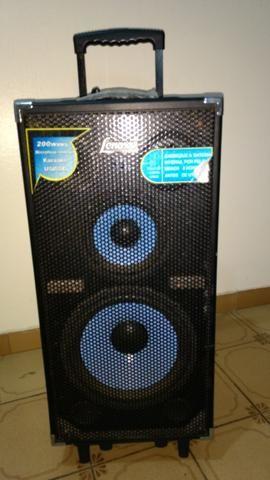 Caixa Amplificada Lenoxx 200w rms