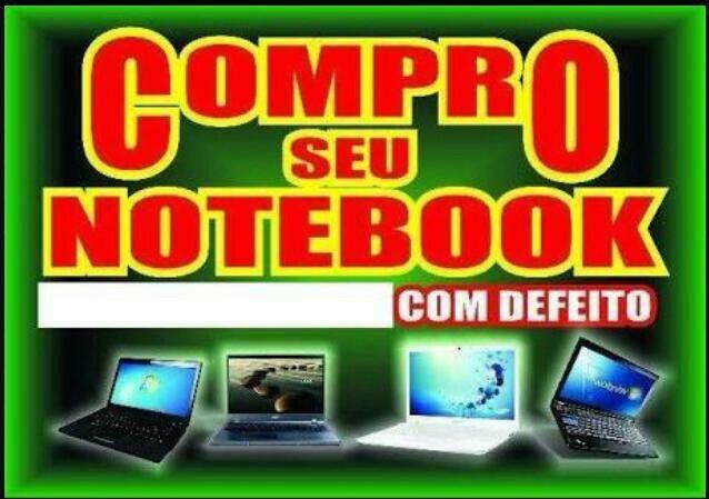 Notebooks quebrados