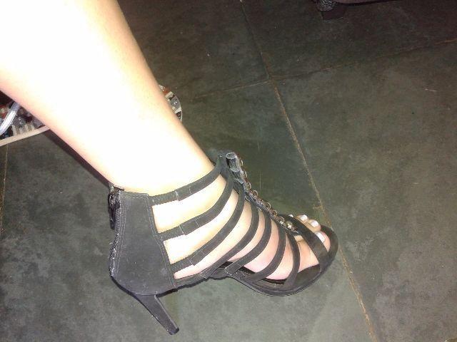 Sandália alta Nº 37