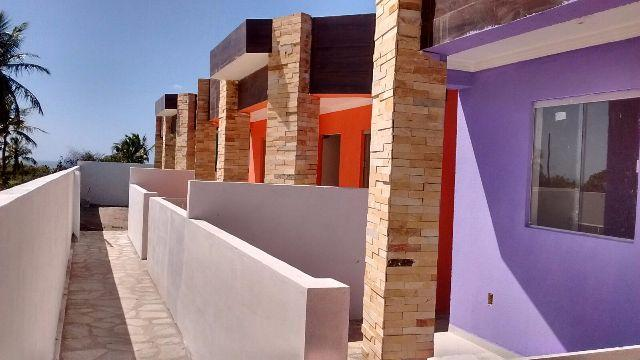 Casa nova em Carapibus com 2 quartos. Litoral Sul PB