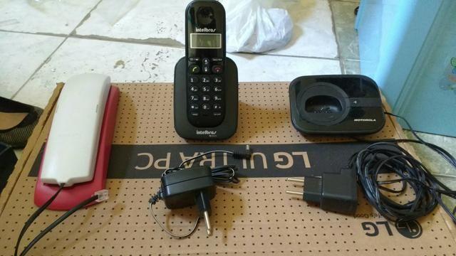 Telefone com fio / Ramal / Base