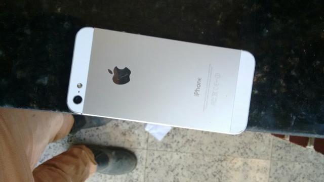 Iphone 5 branco Aceito TROC4S