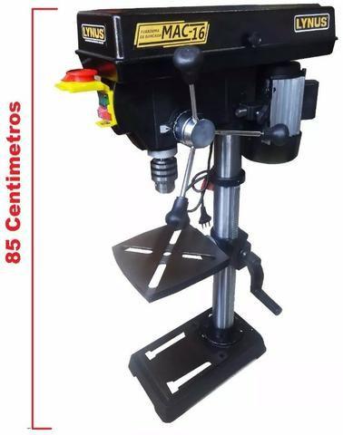 Furadeira De Bancada 220v 1/2cv 1/2cv Mandril 16mm 5/8 Lynus
