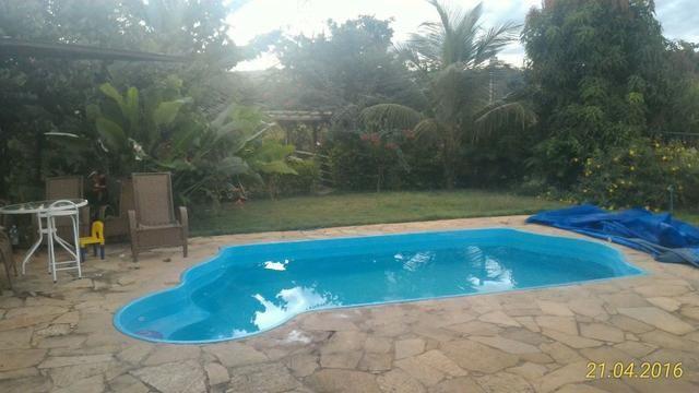 Chácara de 10.000m² no Corumbá III. Casa, piscina aquecida, área de lazer c/ churrasqueira - Foto 12