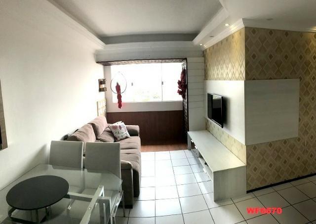 Navegantes e Meridiano, apartamento com 2 quartos, projetado, Parque Iracema, próx BR 116 - Foto 2